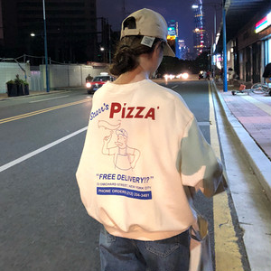 【トップス】韓国風新作チェック長袖ゆったり人気ファッションパーカー