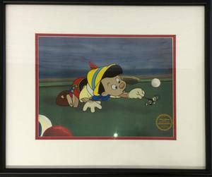 品番2048 セル画 『PINOCCHIO(ピノキオ)』 40年代 ウォルト・ディズニー 限定品 アート