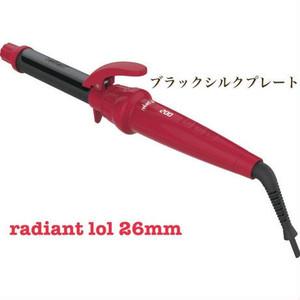【ラディアント】カールアイロン  26mm プレート+本体セット