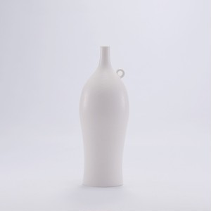 asanomi 花器2800 白 【陶器 一輪挿し】20210630-01