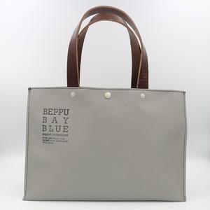 BEPPU BAY BLUE トートバッグ(小/グレー)