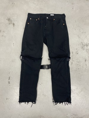 OLDPARK / KAILI 2WAY JEANS(BLACK,Sサイズ)