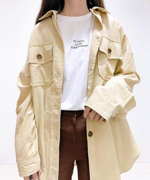 【即納】シンプルゆるロンT/ロングスリーブTシャツ/女 レディース カットソー 白色