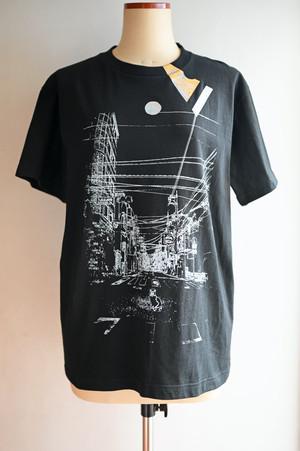 NO.475 九品仏駅前のTシャツ【東京都】