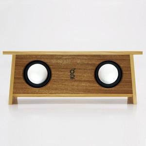 【ナチュラルな木のBluetooth スピーカー】SPiKO-BT Aisia-Teak/スピコノ・ ブルートゥース・ アジア・チーク(Bluetooth スピーカー)