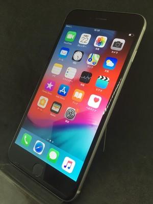 iPhone6Plus 128GB スペースグレイ(docomo)【2334】