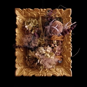 Dry hydrangea frame vintage Ⅰ