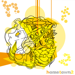 『福の咲くまち』収録/ Compilation Album『hometown2』