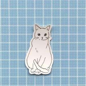 【S21】ステッカー(calendarcat)