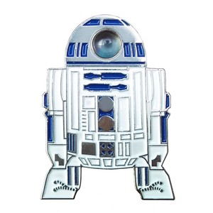 "labarbuda""R2-D2 FAN ART INTERACTIVE PIN"""