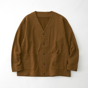 LOOPWHEELER × WM SWEAT CARDIGAN  - BROWN