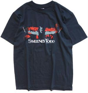 00年代 スウィーニー・トッド 映画 Tシャツ 【M】 | SWEENEY TODD ティム・バートン ホラー ヴィンテージ 古着