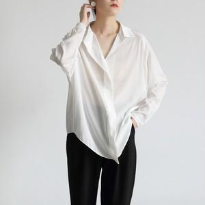 3色/オープンクロスカラーツイルシャツ ・2346