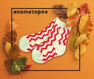 anomatopee socks 【気合だGIZAGIZA】 アノマトペ ソックス 靴下 S〜L(13cm〜24cm)