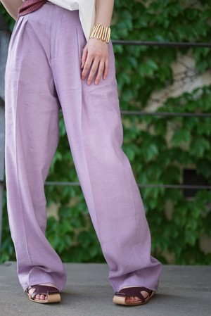 pelleq / trucked trousers (lavender)