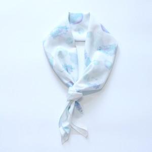 スカーフ -「透明な果物」