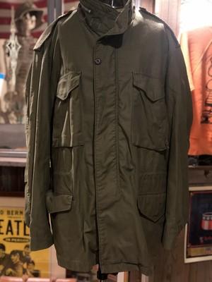 USA us.army ミリタリー  m65 フィールドジャケット ビンテージ アルミ a5