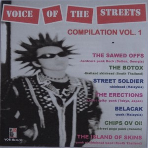 V.A. - VOICE OF STREETS COMPILATION VOL.1 CDR