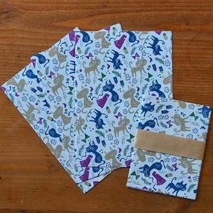 ねこ散歩の紙袋セット