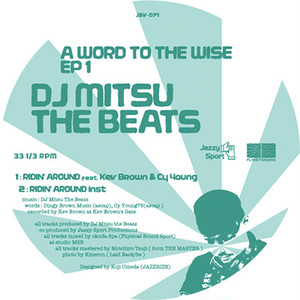 """【12""""】DJ Mitsu the Beats - A WORD TO THE WISE EP1"""