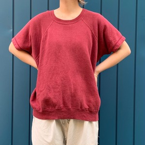 S/S sweat shirts Burgundy