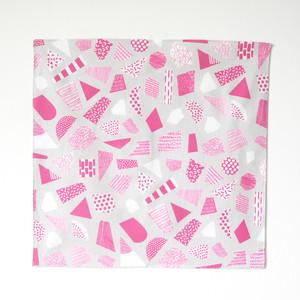 ハンカチ UMO #1 ピンク