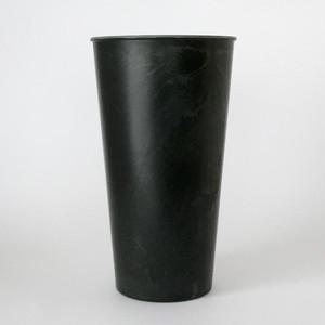 黒いプラスチックポット|Black Plastic Pot