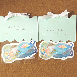 yotsuba02 人魚の想い出ステッカー