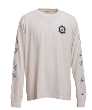 SKATEBOARD PRINT LONG SLEEVE[REC227]