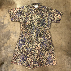 Apoquette Leopard Short Rompers ¥6,900+tax