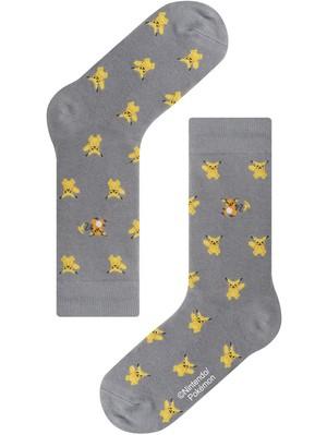 ※2月初旬再入荷予定【Pocket Monsters socksappeal】Pikachu & Raichu│【ポケットモンスターソックスアピール】ピカチュウ & ライチュウ