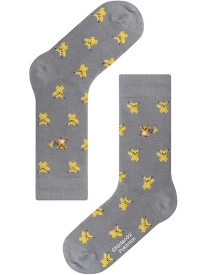 【Pocket Monsters socksappeal】PIKACHU & RAICHU【ポケットモンスターソックスアピール】ピカチュウ & ライチュウ