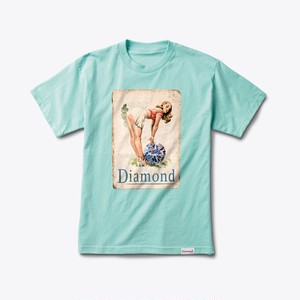 Diamond Supply Co. - Pin Up Girl tee DMND BLUE