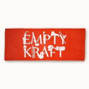 EMPTY KRAFT LOGO Towel