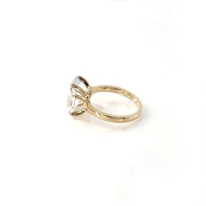 Muse 2 Stones Square Ring