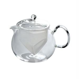 茶こし付きティーポット(耐熱ガラス) 450ml