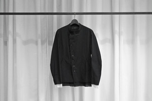 21SS ご予約商品 ASKYY / OFFICER JACKET-2021- / BLK