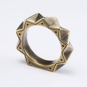 PRISM RING (BRASS) SIZE#11