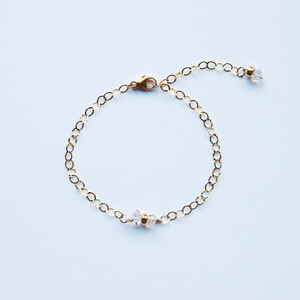 Double Terminated Quartz Bracelet