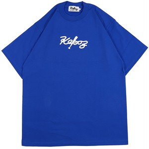 ALL GOOD STORE × KEBOZ CT HEAVY WEIGHT S/S TEE (BLUE)