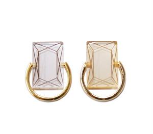 アクリルダイヤモンドリング
