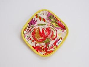 膣トレできる布ナプキン【ライナー】Yellow Flower