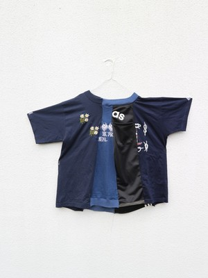 jersey patchwork Tshirt