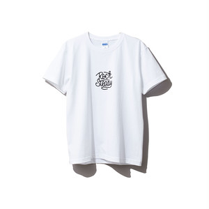 hntbk2028 Maskita Laba ROCK STEADY TシャツWHITE