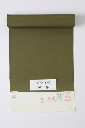 きもの / 浜ちりめん / 璃寛茶 / Khaki(With tailoring)