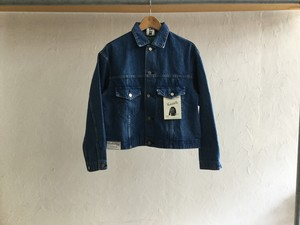 "WESTOVERALLS "" 857B 3RD DENIM JACKET S-TYPE "" BIO BLUE"