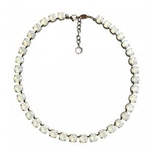 ビジュー ネックレス ホワイト オパール KRiKOR ドイツ製 Bijoux Necklace White Opal
