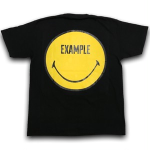 EXAMPLE EXAMPLY TEE/BLACK