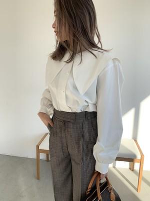 large collar blouse