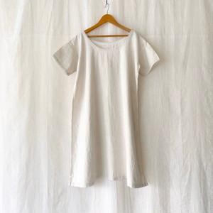 FRANCE antique cotton linen nightie dress 1